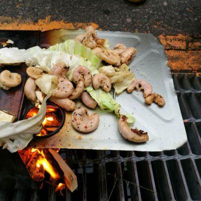 豚コブクロにんにく胡椒味