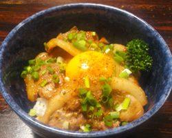 猪の生姜焼き丼