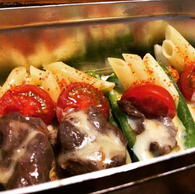 鹿ジンギス+チーズ+夏野菜