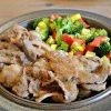 イノシシ肉の生姜焼き