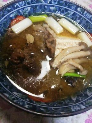 #熊肉 くま鍋
