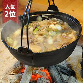 【2位】極上!遠山流ぼたん鍋セット(猟師鍋)