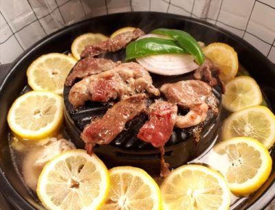 ムーガタ鍋 ごとく付き 陶器 塩レモン鍋 鶏スジ