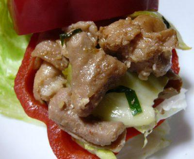 豚のジンギスカン 豚のモツ(膵臓・肝臓・心臓・大腸・小腸・胃)バター