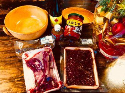 ジビエ 鹿肉 シカ肉 ボルシチ 南信州 飯田焼肉