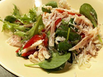 ジャスミン米サラダ 鶏ササミ