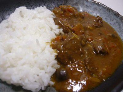 ジビエカレー 鹿肉