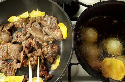 ジンギスカン 天ぷら饅頭 カレー味