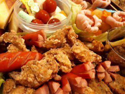 #行楽弁当 #遠山ジンギス 松茸ご飯 とりじん 鶏