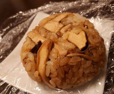 #松茸ご飯 信州の恵み