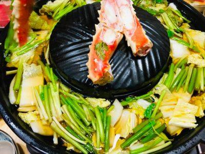 焼鍋奉行 お鍋 焼肉 飯田焼肉 海の幸