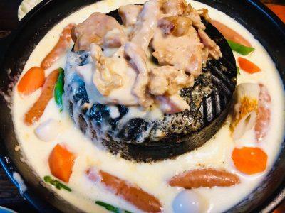 飯田市 遠山ジンギス ジンギスカン チーズフォンヂュ 焼鍋