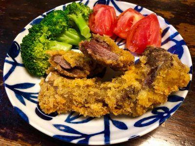 ジビエ 鹿肉 シカ肉 カツ 南信州 飯田焼肉