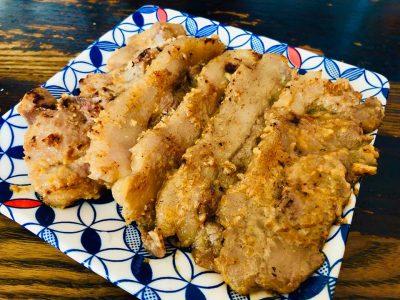 飯田市 猪の酒粕味噌焼き