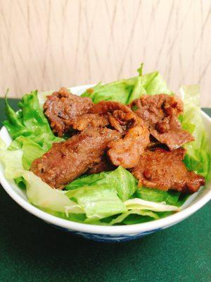 遠山ジンギス丼用 ジンギス丼 カレー味