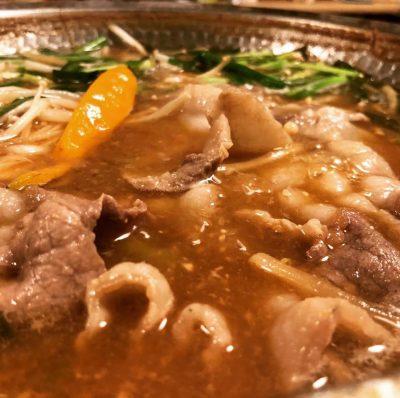 イノシシの味噌しゃぶ◼︎猪肉しゃぶしゃぶ用