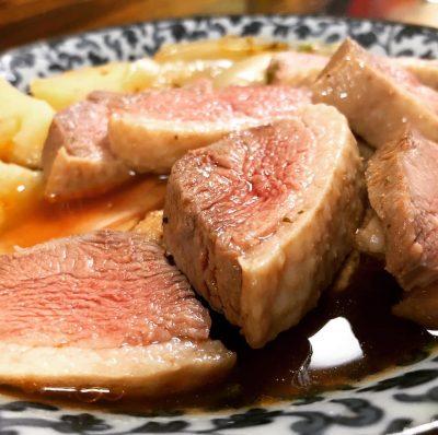 合鴨肉のブイヤベース仕立て
