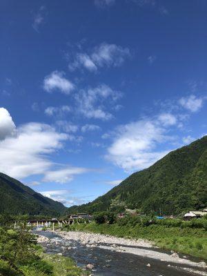 遠山郷の「逆さ富士」#遠山郷