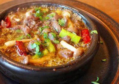 飯田市 鹿肉 アヒージョ イノシシの里 焼鍋
