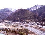 盛平山と和田宿